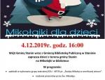 Gminna Biblioteka Publiczna w Staninie - Mikołajki dla dzieci