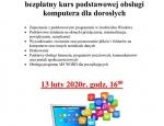 Gminna Biblioteka Publiczna w Staninie - Kurs komputerowy 2020