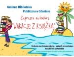 """Gminna Biblioteka Publiczna w Staninie - Konkurs """"Wakacje z książką"""""""