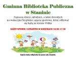 Gminna Biblioteka Publiczna w Staninie - Bezpłatne zajęcia sportowe