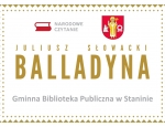 """Gminna Biblioteka Publiczna w Staninie - Narodowe Czytanie 2020 - """"Balladyna"""""""