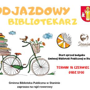 """Rajd rowerowy w ramach akcji """"Odjazdowy Bibliotekarz"""