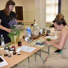 Warsztaty z tworzenia natrualnych kosmetyków.
